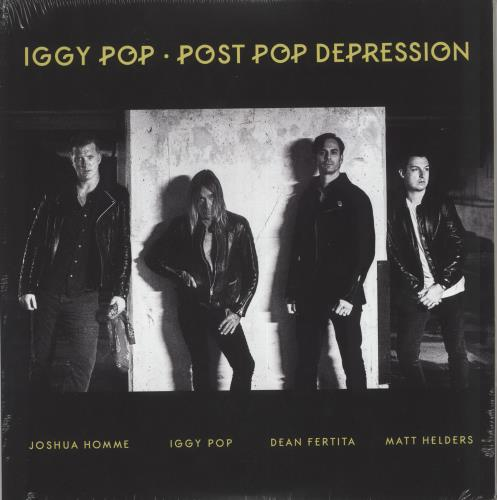 Iggy Pop Post Pop Depression - 180gm vinyl LP album (LP record) UK IGGLPPO730394