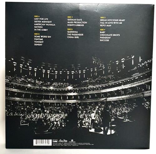 Iggy Pop Post Pop Depression: Live At The Royal Albert Hall - RSD17 3-LP vinyl record set (Triple Album) UK IGG3LPO765640
