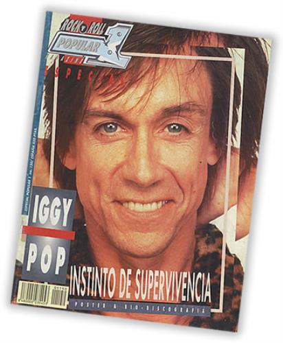 Iggy Pop Rock N Roll Popular 1 Magazine magazine Spanish IGGMARO402183