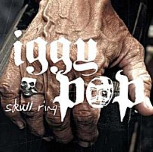 Iggy Pop Skull Ring CD album (CDLP) Japanese IGGCDSK249177