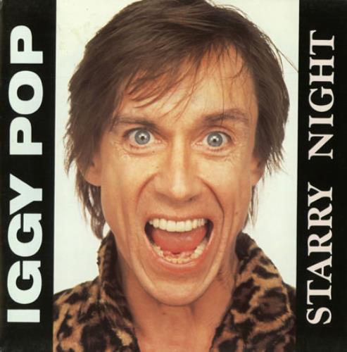 "Iggy Pop Starry Night 7"" vinyl single (7 inch record) Spanish IGG07ST389249"