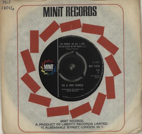 Image result for im gonna do all i can ike and tina turner single images