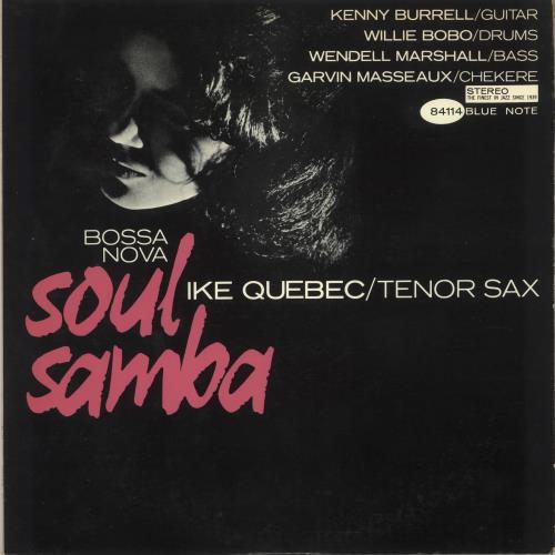 Ike Quebec Bossa Nova Soul Samba vinyl LP album (LP record) Japanese IKQLPBO748434