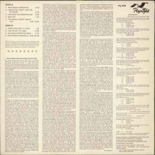 Ike Turner Kings Of Rhythm vinyl LP album (LP record) UK I-KLPKI722921