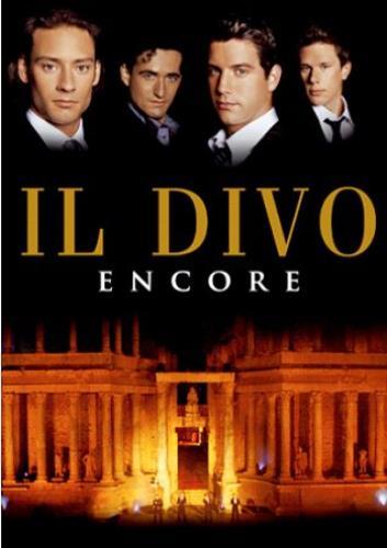 Il Divo Encore DVD UK IDIDDEN342964