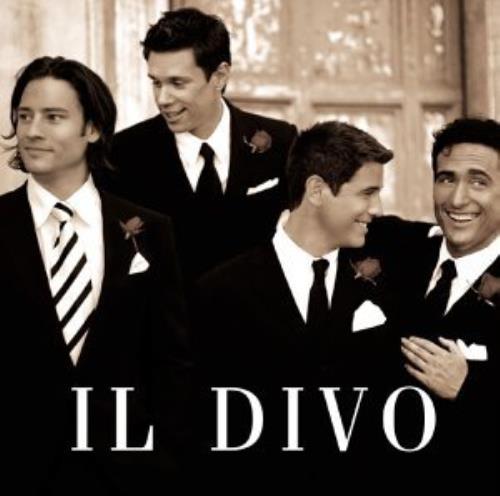 Il Divo Il Divo CD album (CDLP) UK IDICDIL305318