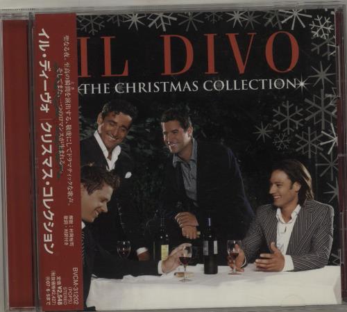 Il Divo The Christmas Collection CD album (CDLP) Japanese IDICDTH686553
