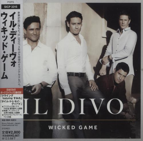 Il Divo Wicked Game CD album (CDLP) Japanese IDICDWI670606