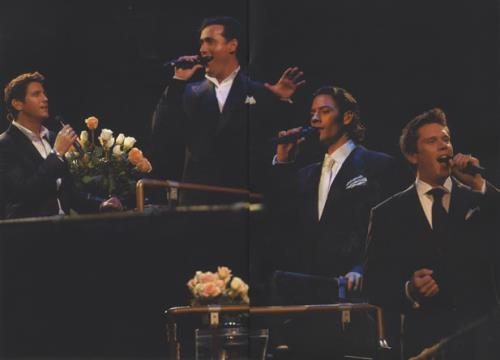 Il Divo World Tour 2007 Programme tour programme UK IDITRWO416571