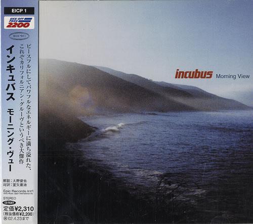 Incubus Morning View CD album (CDLP) Japanese IUUCDMO222923