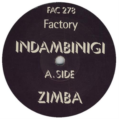 "Indambinigi Zimba 12"" vinyl single (12 inch record / Maxi-single) UK IIG12ZI423713"