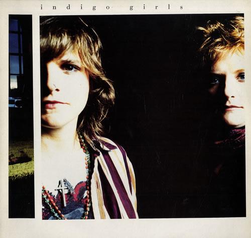 Indigo Girls Indigo Girls + Inner vinyl LP album (LP record) UK IDGLPIN68505