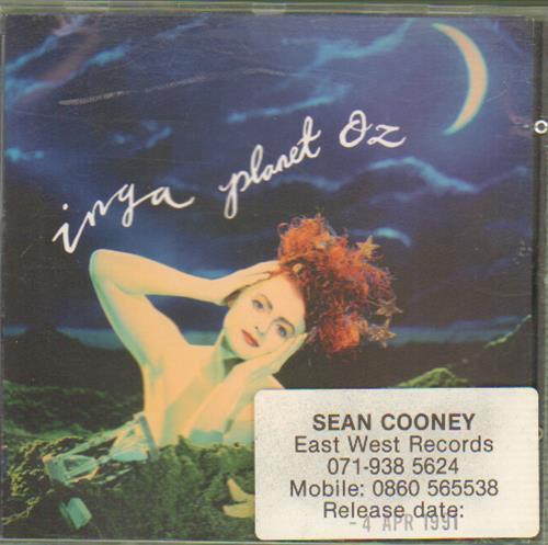 Inga Humpe Planet Oz CD album (CDLP) German IGHCDPL110390