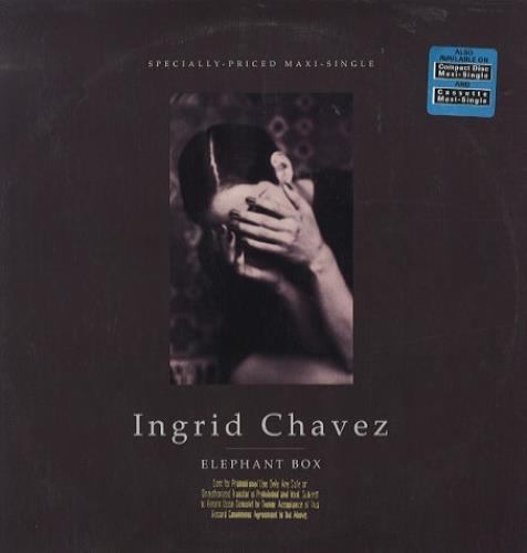 "Ingrid Chavez Elephant Box 12"" vinyl single (12 inch record / Maxi-single) US ING12EL121355"