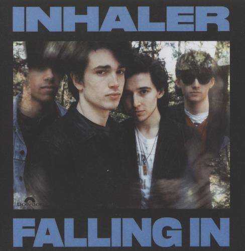 "Inhaler Falling In - Blue Vinyl 7"" vinyl single (7 inch record) UK 11T07FA753917"