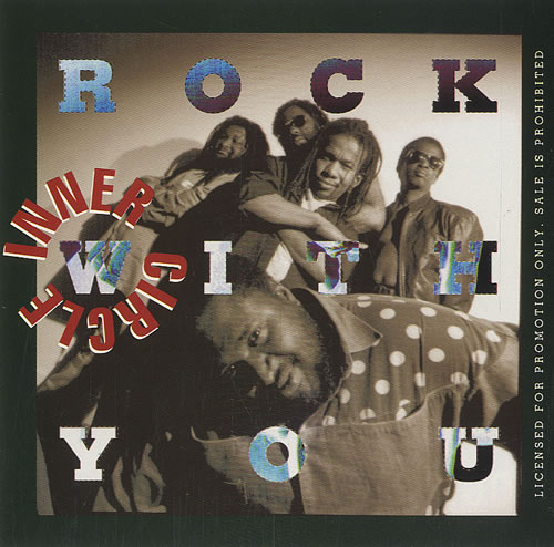 """Inner Circle Rock With You CD single (CD5 / 5"""") US IC2C5RO453861"""