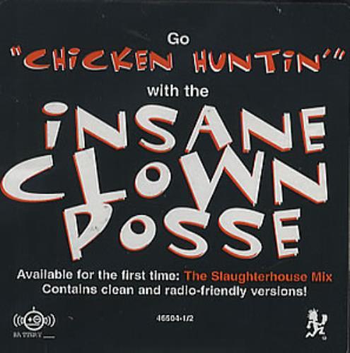 "Insane Clown Posse Chicken Huntin' CD single (CD5 / 5"") US PCIC5CH351955"