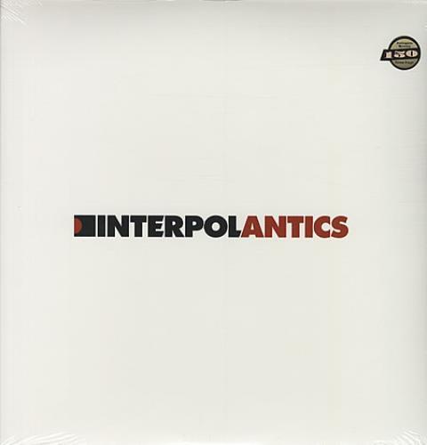 Interpol Antics vinyl LP album (LP record) US ITPLPAN337451
