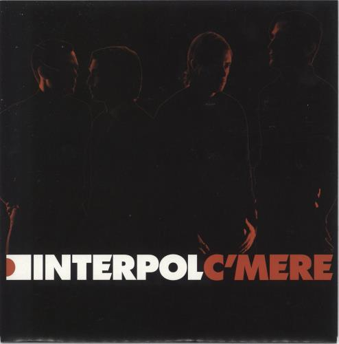 "Interpol C'Mere - Numbered 7"" vinyl single (7 inch record) UK ITP07CM322630"