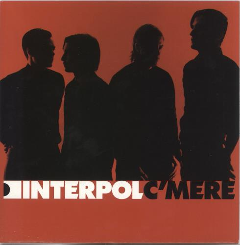 "Interpol C'Mere - Numbered 7"" vinyl single (7 inch record) UK ITP07CM322632"
