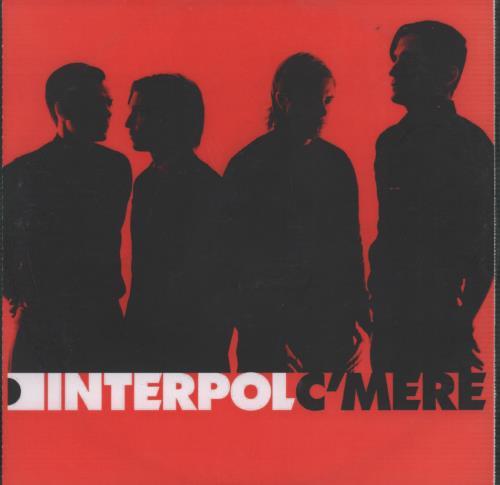 Interpol C'mere CD-R acetate UK ITPCRCM322144