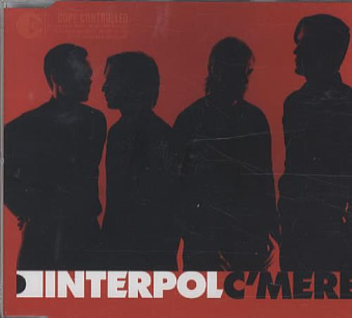 "Interpol C'Mere CD single (CD5 / 5"") French ITPC5CM336734"