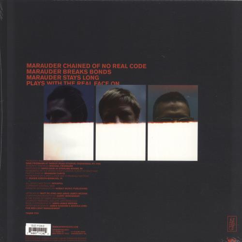 Interpol Marauder - Cream Vinyl - Sealed vinyl LP album (LP record) UK ITPLPMA702477
