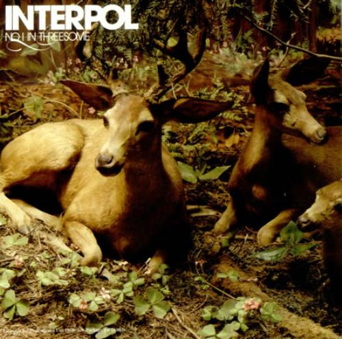 "Interpol No I In Threesome CD single (CD5 / 5"") US ITPC5NO418868"