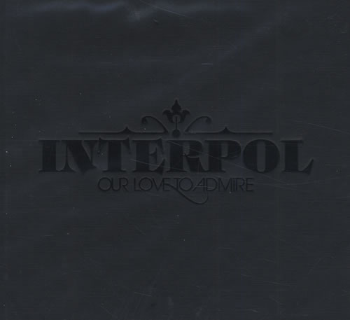 Interpol Our Love To Admire + Instrumentals 2 CD album set (Double CD) US ITP2COU429597