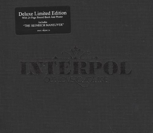 Interpol Our Love To Admire CD album (CDLP) UK ITPCDOU406387