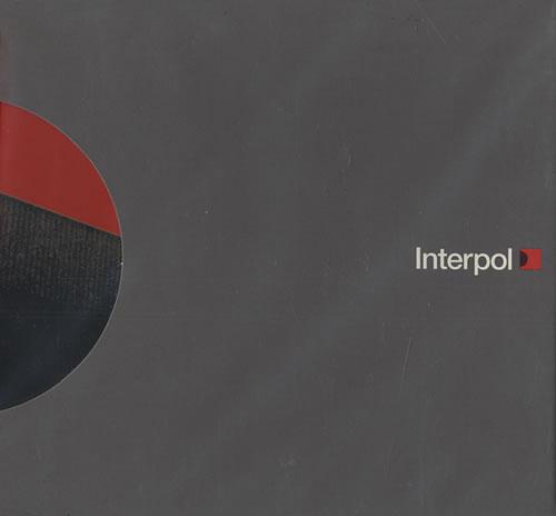 "Interpol PDA CD single (CD5 / 5"") UK ITPC5PD265085"