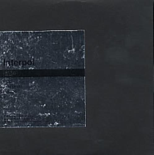 "Interpol PDA CD single (CD5 / 5"") UK ITPC5PD265276"