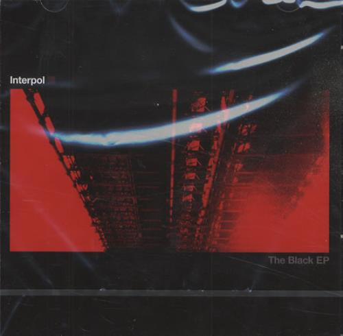 "Interpol The Black EP CD single (CD5 / 5"") French ITPC5TH410623"