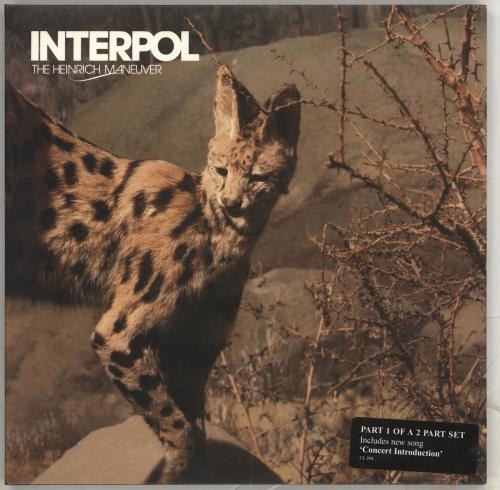 "Interpol The Heinrich Maneuver 7"" vinyl single (7 inch record) UK ITP07TH406151"