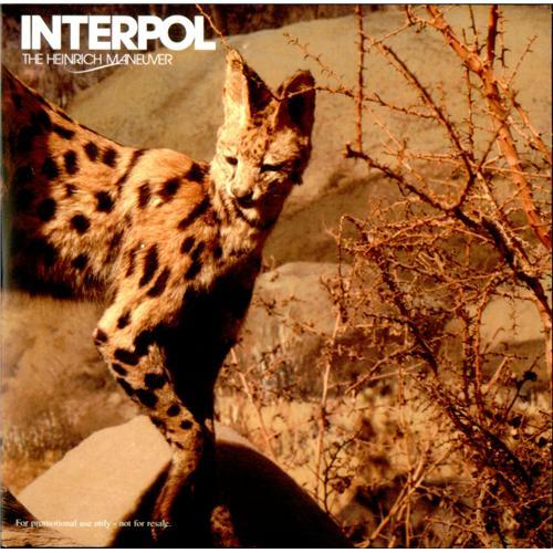 "Interpol The Heinrich Maneuver CD single (CD5 / 5"") UK ITPC5TH415866"