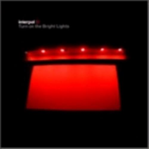Interpol Turn On The Bright Lights CD album (CDLP) Australian ITPCDTU227124