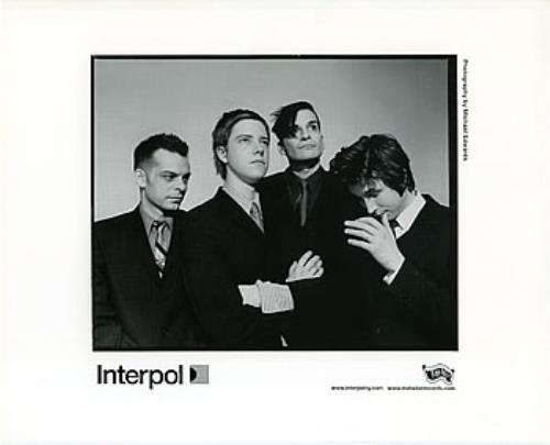 Interpol Turn On The Bright Lights media press pack US ITPPPTU313252