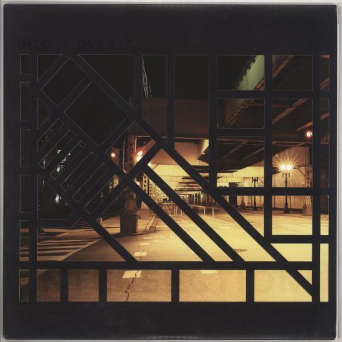 Into It. Over It. Intersections - Orange and Black Splash Vinyl vinyl LP album (LP record) US I34LPIN738366