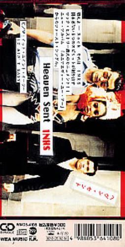 "Inxs Heaven Sent 3"" CD single (CD3) Japanese INXC3HE08496"