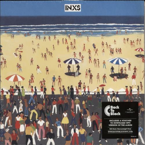 Inxs INXS - 180gm - Opened shrink vinyl LP album (LP record) UK INXLPIN772017