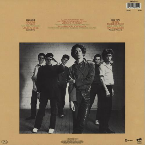 Inxs INXS vinyl LP album (LP record) Dutch INXLPIN753505