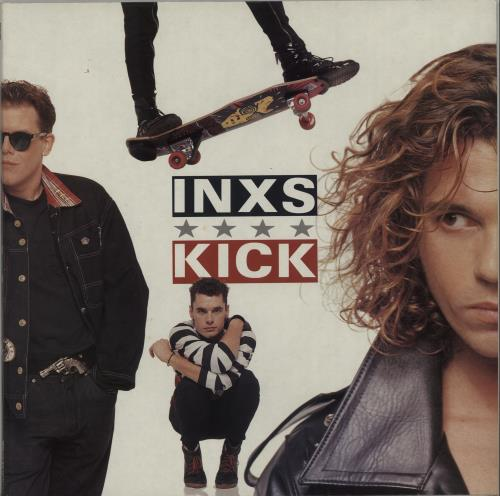 Inxs Kick - EX vinyl LP album (LP record) UK INXLPKI657026
