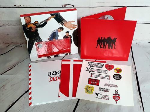 Inxs Kick 25 4-CD album set UK INX4CKI755969
