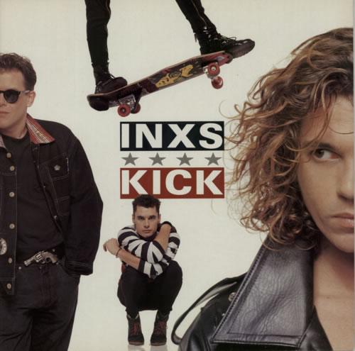 Inxs Kick vinyl LP album (LP record) UK INXLPKI237336