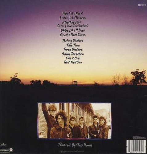 Inxs Listen Like Thieves vinyl LP album (LP record) Dutch INXLPLI273757