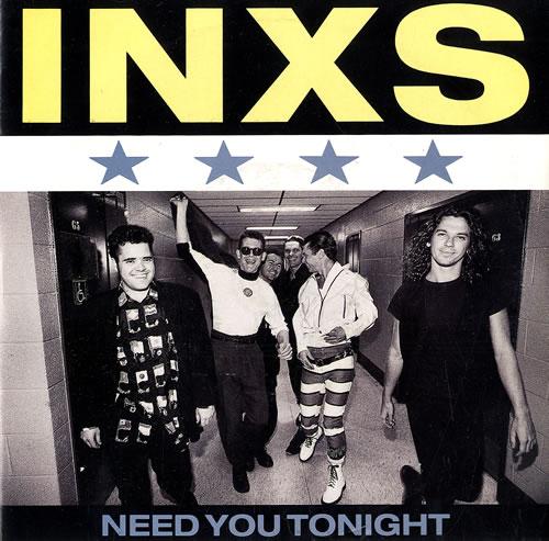 "Inxs Need You Tonight - Injection 7"" vinyl single (7 inch record) UK INX07NE224358"