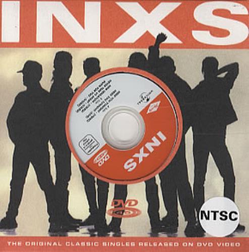 Inxs Need You Tonight DVD Single Swedish INXDSNE323598