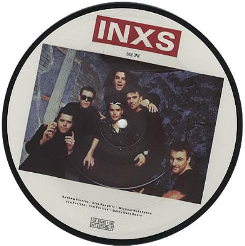"Inxs Never Tear Us Apart: Inxs Never Tear Us Apart UK 7"" Vinyl Picture Disc 7 Inch"