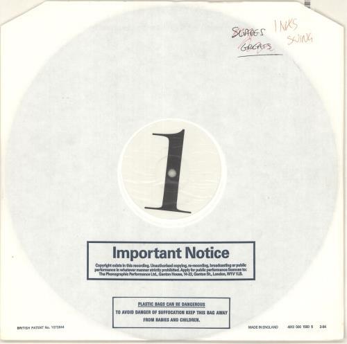 Inxs The Swing - Test Pressing vinyl LP album (LP record) UK INXLPTH192638