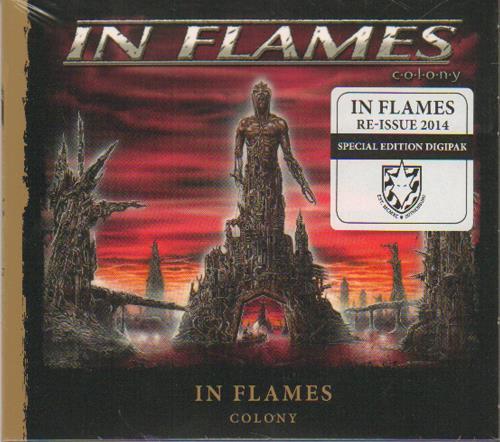 In Flames Colony CD album (CDLP) German FN5CDCO673530